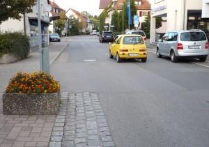 Die Neckarstraße zwischen Margarethen- und Brückenstraße wird 2012 neu gestaltet