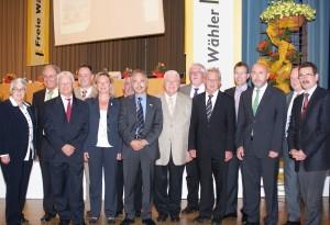 Der am 14.05.2011 gewählte Vorstand der Freien Wähler Baden-Württemberg