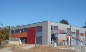 In den letzten Wochen wurden in Remseck-Pattonville und in Remseck-Hochberg zwei große neue Kitas eingeweiht, im Bild der neue Kindergarten Waldallee in Hochberg