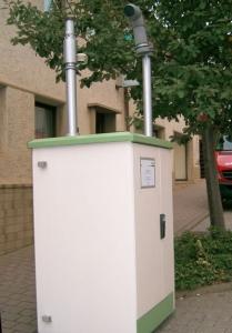 In Markgröningen hat die Landesanstalt für Umwelt und Messungen schon vor Jahren an der Grabenstraße eine Anlage zur Messung von Luftschadstoffen aufgestellt.