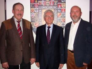 Horst Leutenecker, Karl-Heinz Balzer und Gerhard Waldbauer