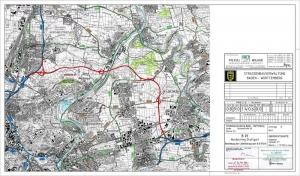 Am 11.06.2004 hat das Bundesverkehrsministerium die Linienbestimmung für den Nordostring Stuttgart festgelegt