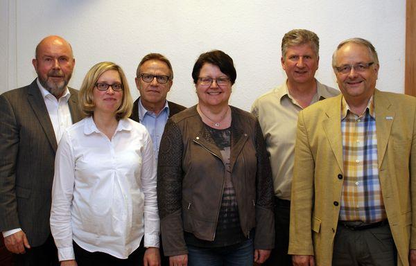 Vorstand der Freien Wähler mit bisheriger und neu gewählter Schriftführerin