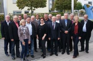 Kommunalpolitiker aus vier Nachbarstädten trafen sich im Haus der Bürger in Remseck zum Gedankenaustausch